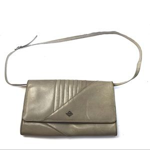 Vintage Grey Crossbody Bag - Gucci Italy